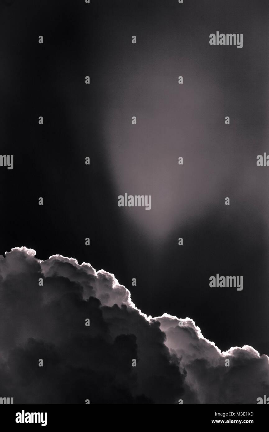 Dramatic cumulonimbus storm clouds - Stock Image