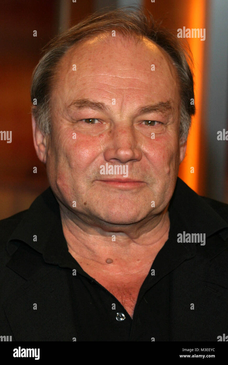 Kerner Talkshow, Aufzeichnung 06.12.2005, Klaus Maria Brandauer (Schauspieler) - Stock Image