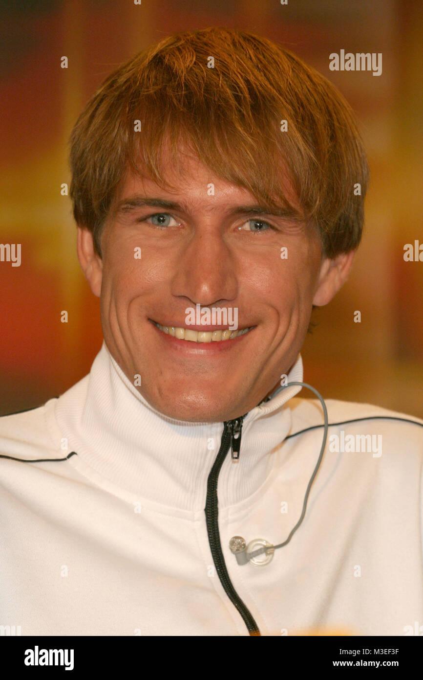 Kerner, 18.10.2006, Tom Sietas haelt drei Weltrekorde im Apnoe-Tauchen - Stock Image