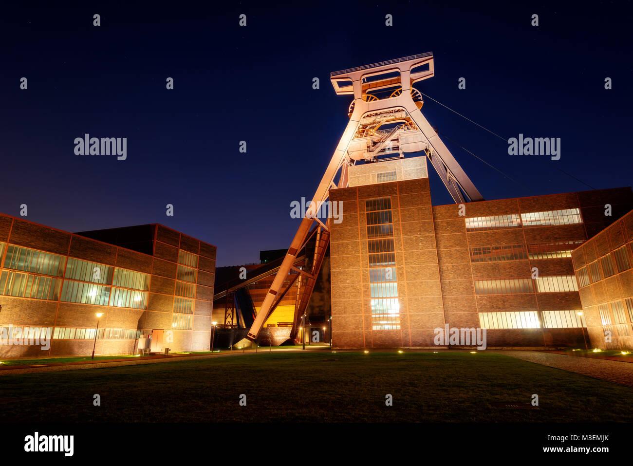 Essen Zeche Zollverein taken in 2016 - Stock Image