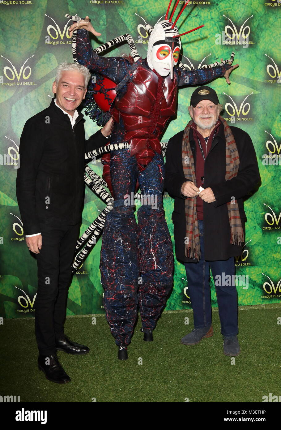 OVO by Cirque du Soleil - Press night at the Royal Albert Hall Kensington Gore London Featuring Phillip Schofield Sir David Jason Where London ...  sc 1 th 278 & OVO by Cirque du Soleil - Press night at the Royal Albert Hall Stock ...