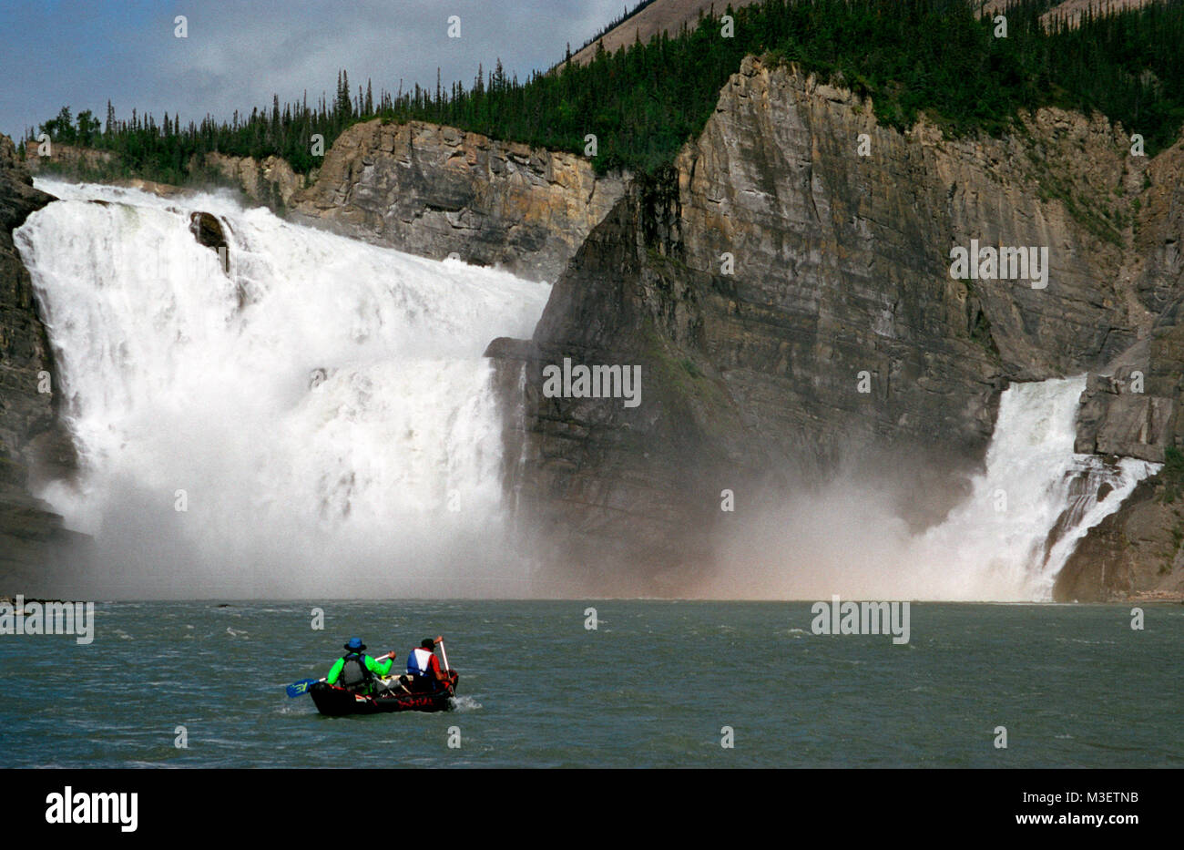 prix le plus bas 159b7 4fc58 Virginia Falls on the Nahanni RIver in Canada Stock Photo ...