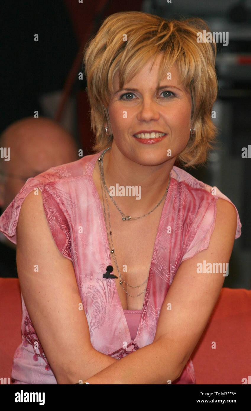 NDR Talkshow vom 31.03.2006, Michaela Schaffrath Stock Photo