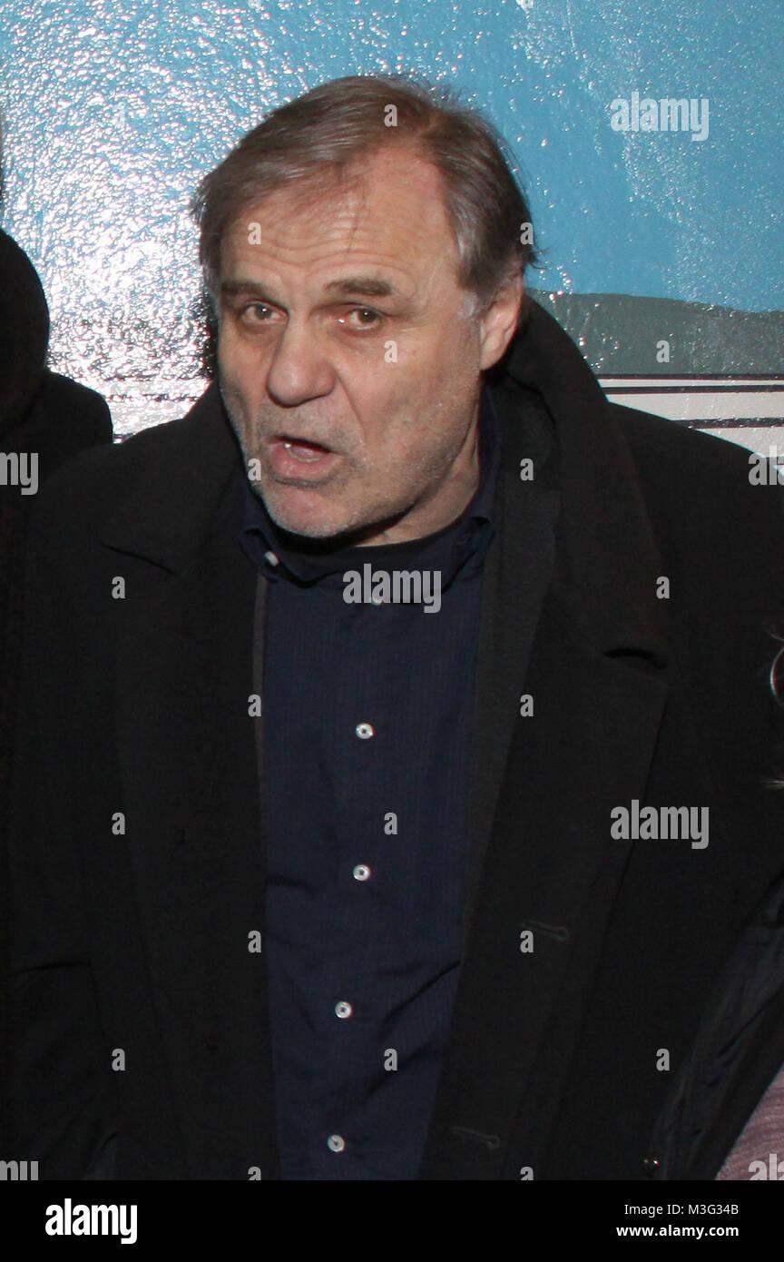 """Premiere """"Der Architekt"""", Hamburg, Abatonb, 02.02.2009, Josef Bierbichler Stock Photo"""