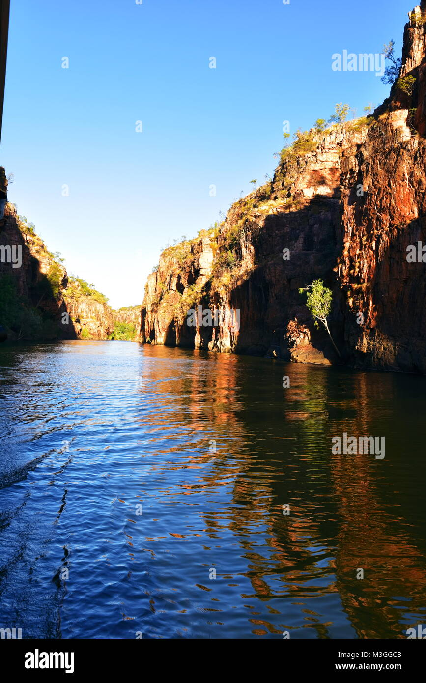 Magnificent Katherine Gorge in Western Australia - Stock Image