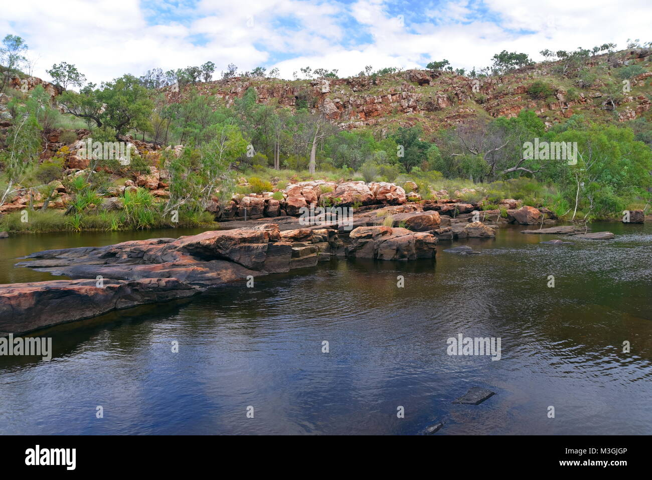 Magnificent Bell Gorge on the Gibb River Road ,Kimberly Region, Western Australia Stock Photo