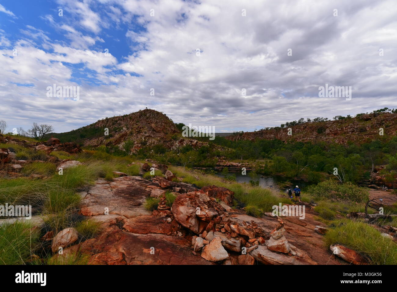 Magnificent Bell Gorge on the Gibb River Road ,Kimberly Region, Western Australia - Stock Image