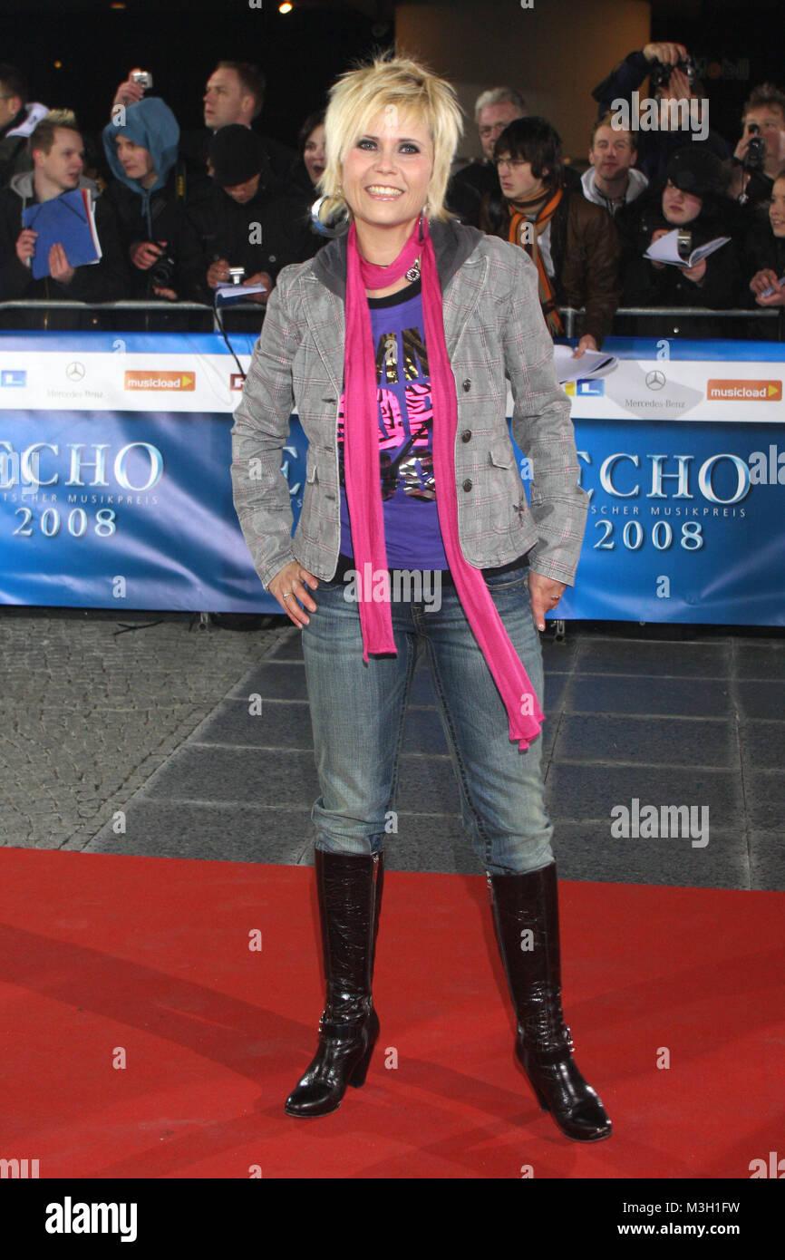 Echo Verleihung 2008, 15.02.2008, Berlin, Michaela Schaffrath Stock Photo