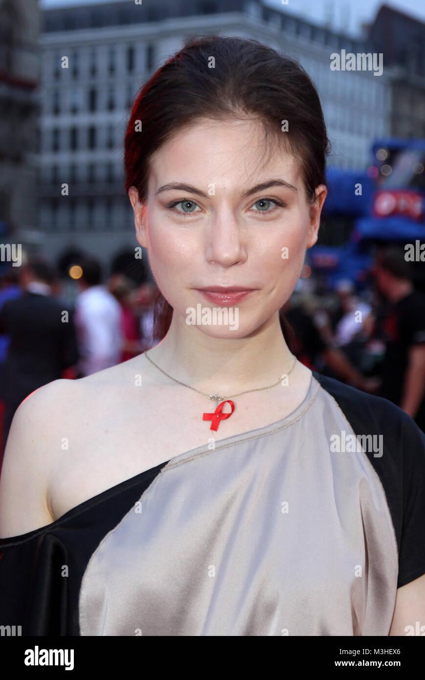 Nora von Waldstetten  ,   Life Ball 2010 -  Am 17. Juli 2010 fand zum 17. Mal  Europas groeßtes AIDS-Charity - Stock Image
