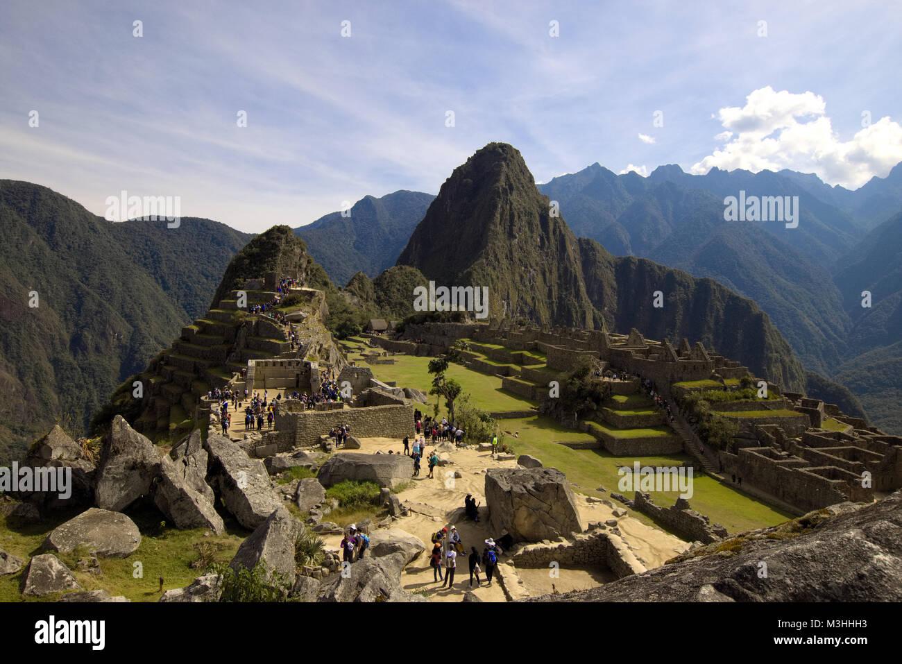 Machu Picchu, Peru - Stock Image