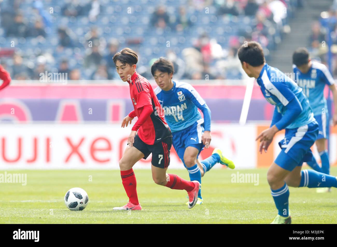 Saitama Japan 10th Feb 2018 Koki Morita U 18 J League Football