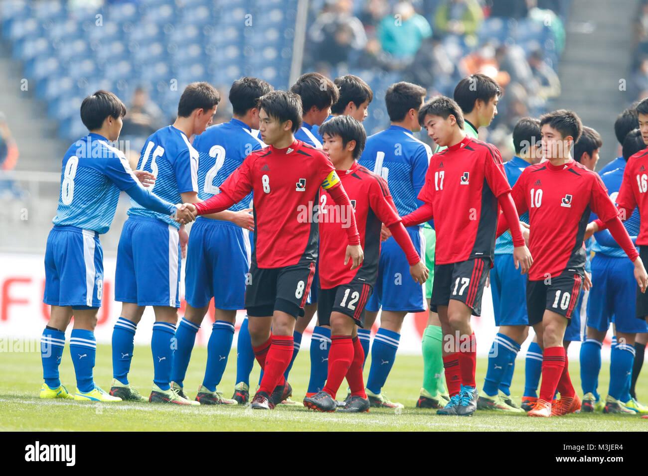 Saitama Japan 10th Feb 2018 U18j U 18 J League Team Group Stock