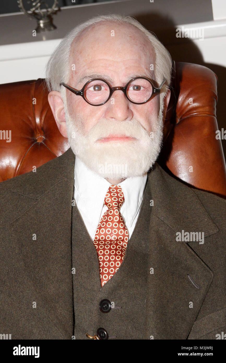 Sigmund Freud, Madame Tussauds - Stock Image