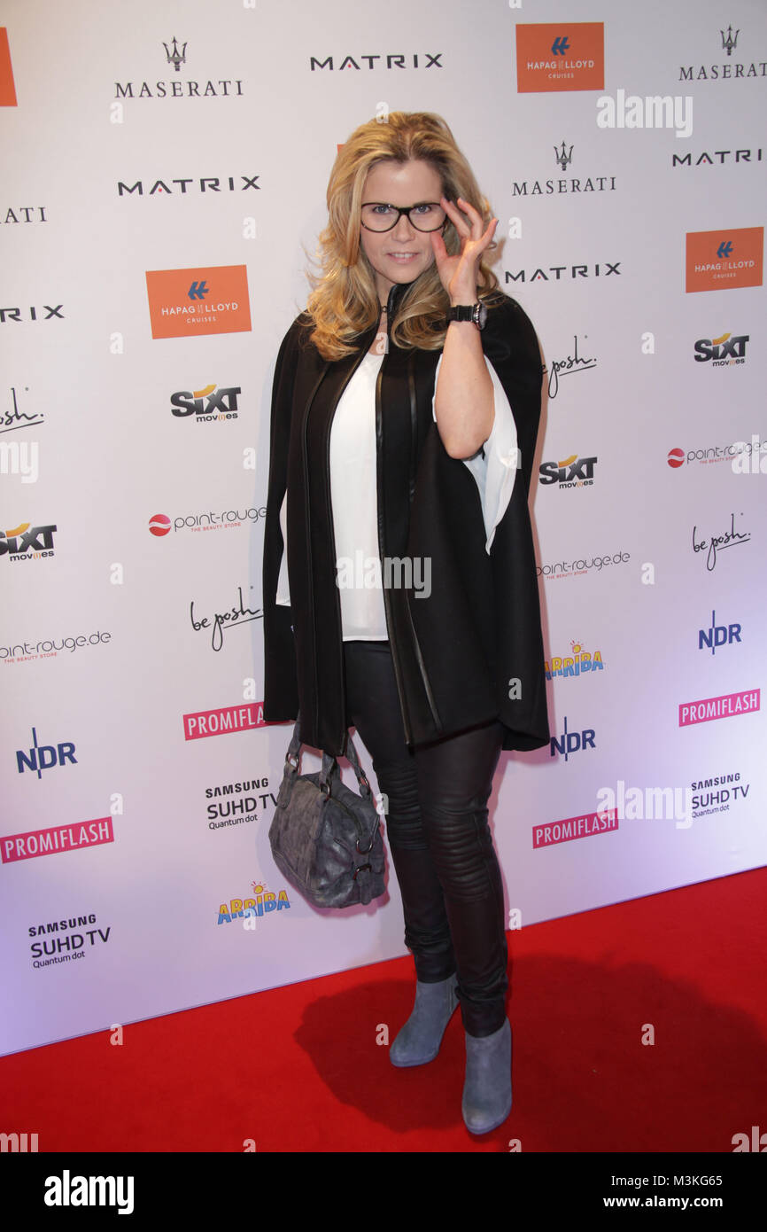 Michaela Schaffrath, Movie meets Media im Hotel Atlantic, Hamburg, 28.11.2016 Stock Photo