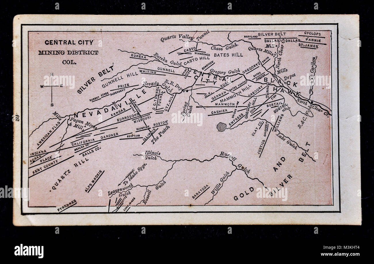 1882 dstreet Atlas Map - Gold Mine Map - Central City Mining ... on known gold deposits in michigan, liberia location on map, known gold mines in world map, natural oil deposits us map, kiev map, iron ore deposits us map, gem deposits us map, low temperature us map, us rail map, alaska gold deposits map, cool us map, united states coal map, aluminum mines united states map, natural gas deposits us map, iron mines world map, karst topography us map, kalahari desert map,