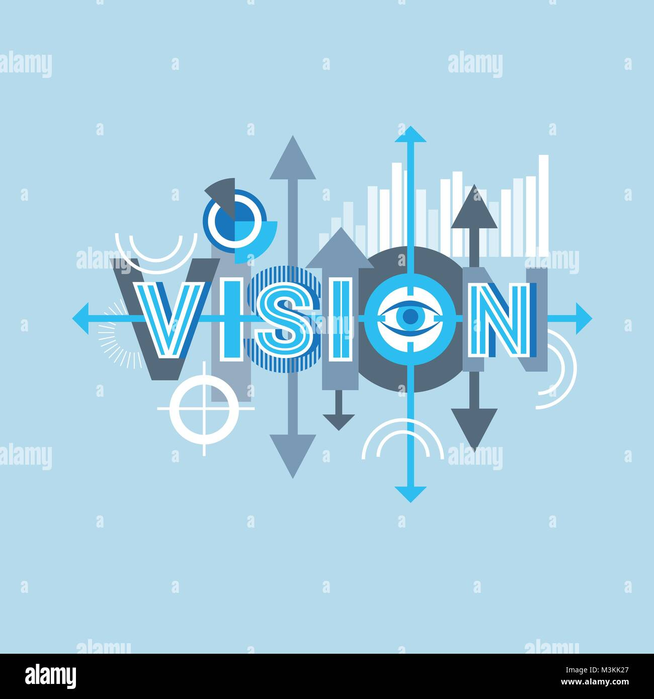 Vision Word Creative Graphic Design Modern Business Concept Over Stock Vector Image Art Alamy,Small Yacht Interior Design Ideas