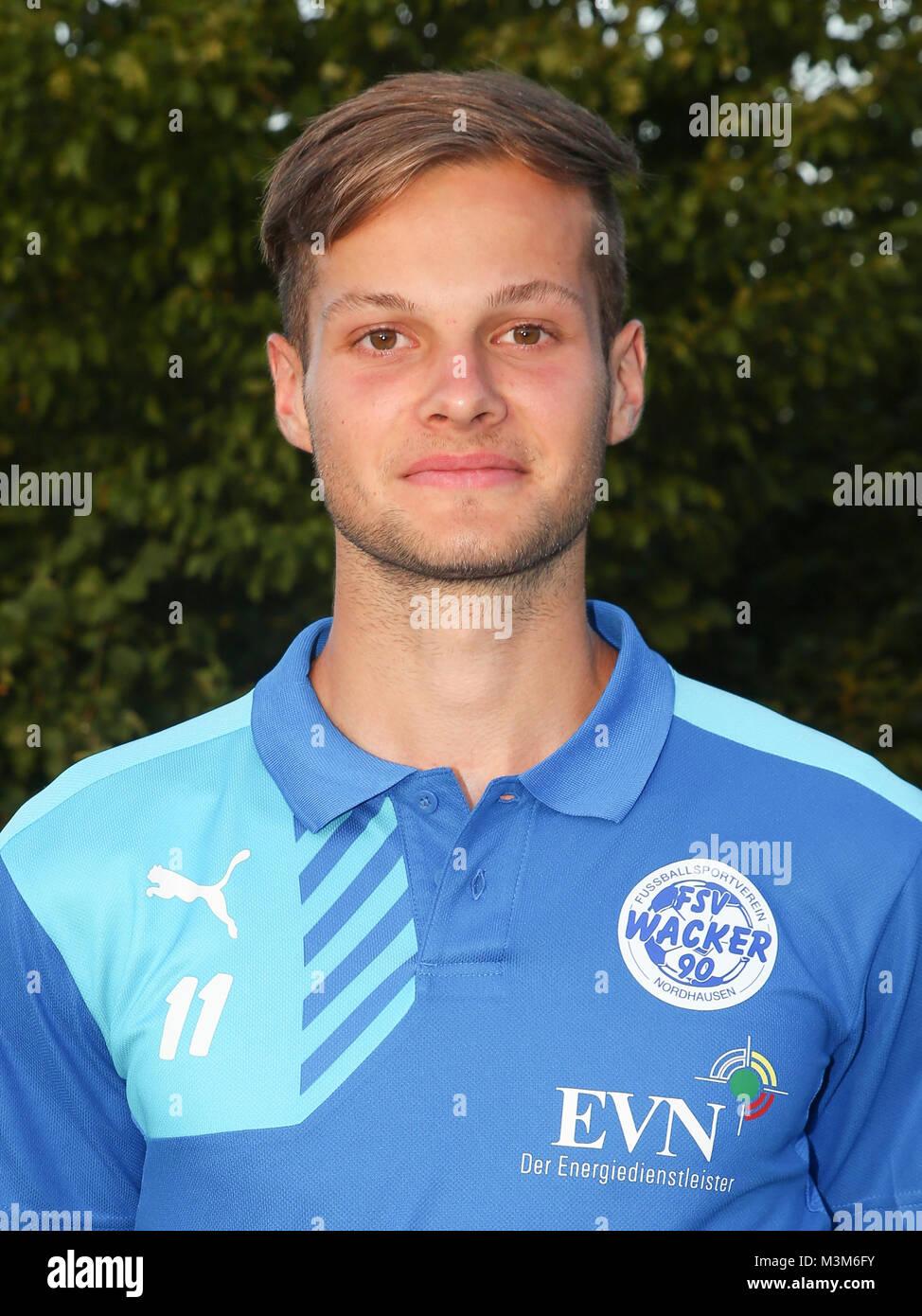 Kader FSV Wacker 90 Nordhausen  - NOFV-Regionalliga Nordost, Saison 2016/17 - Stock Image
