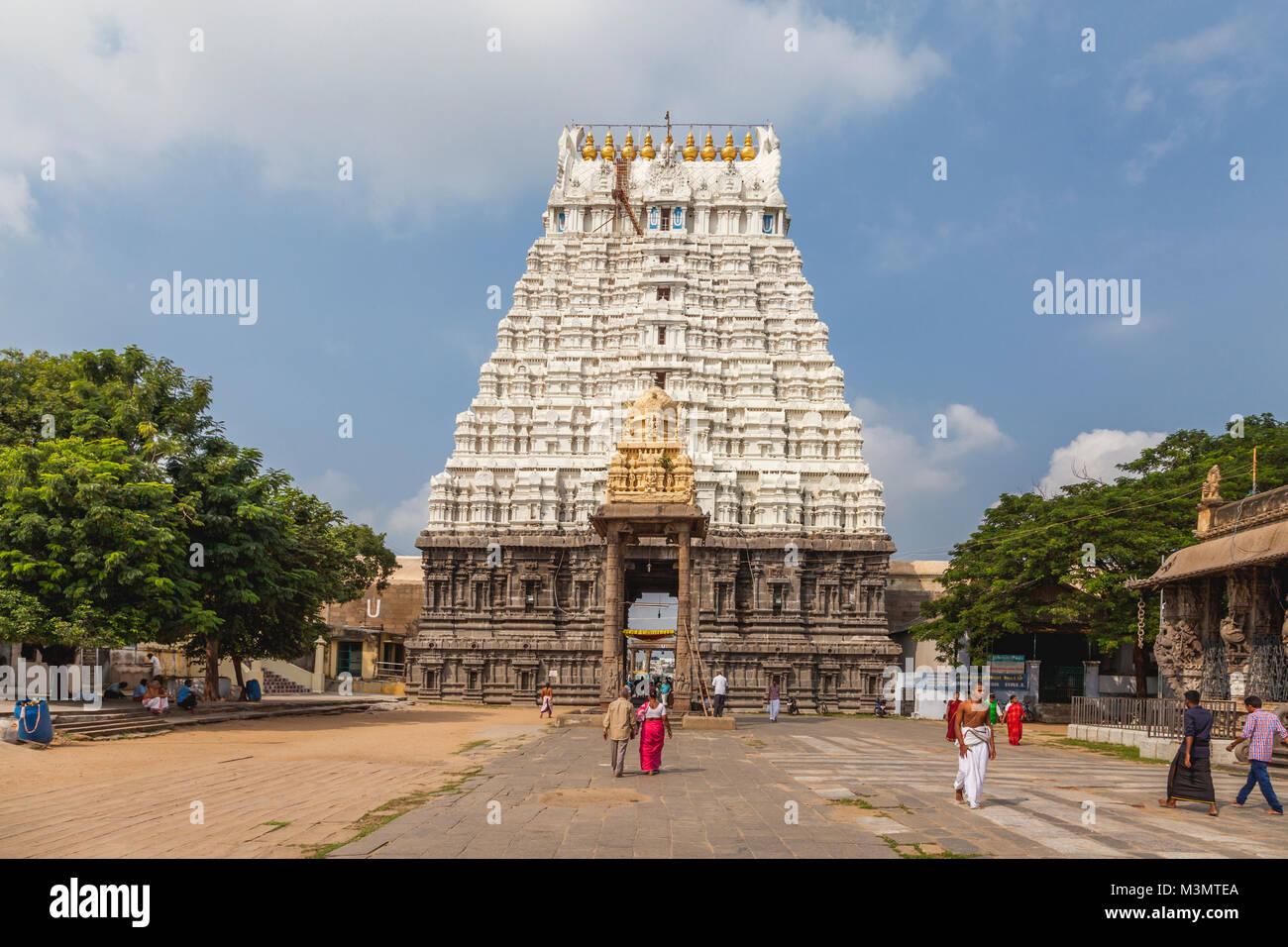 India, Tamil Nadu, Kanchipuram...