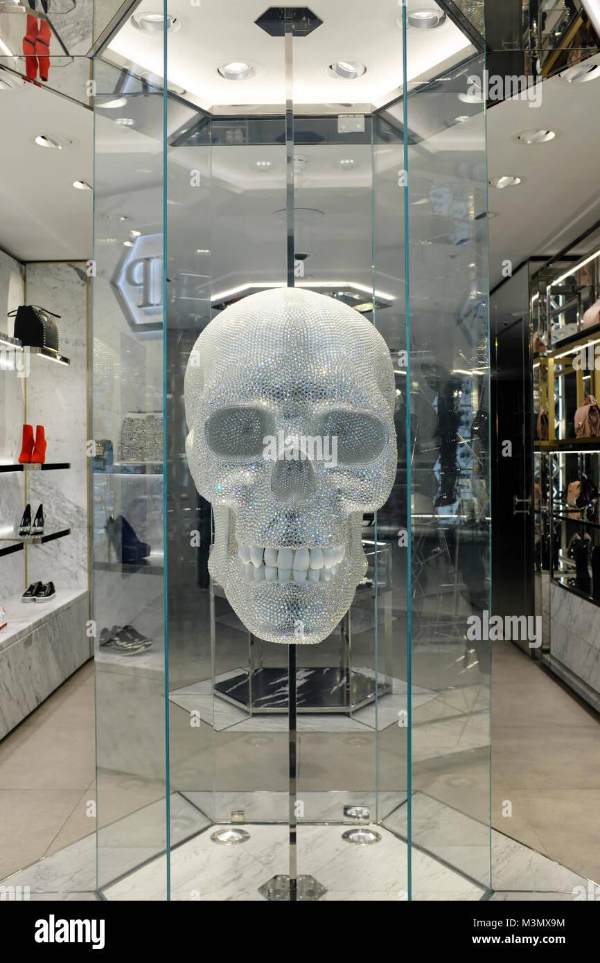19806ece9d9 Philipp Plein store on New Bond Street, London, England, UK Stock ...