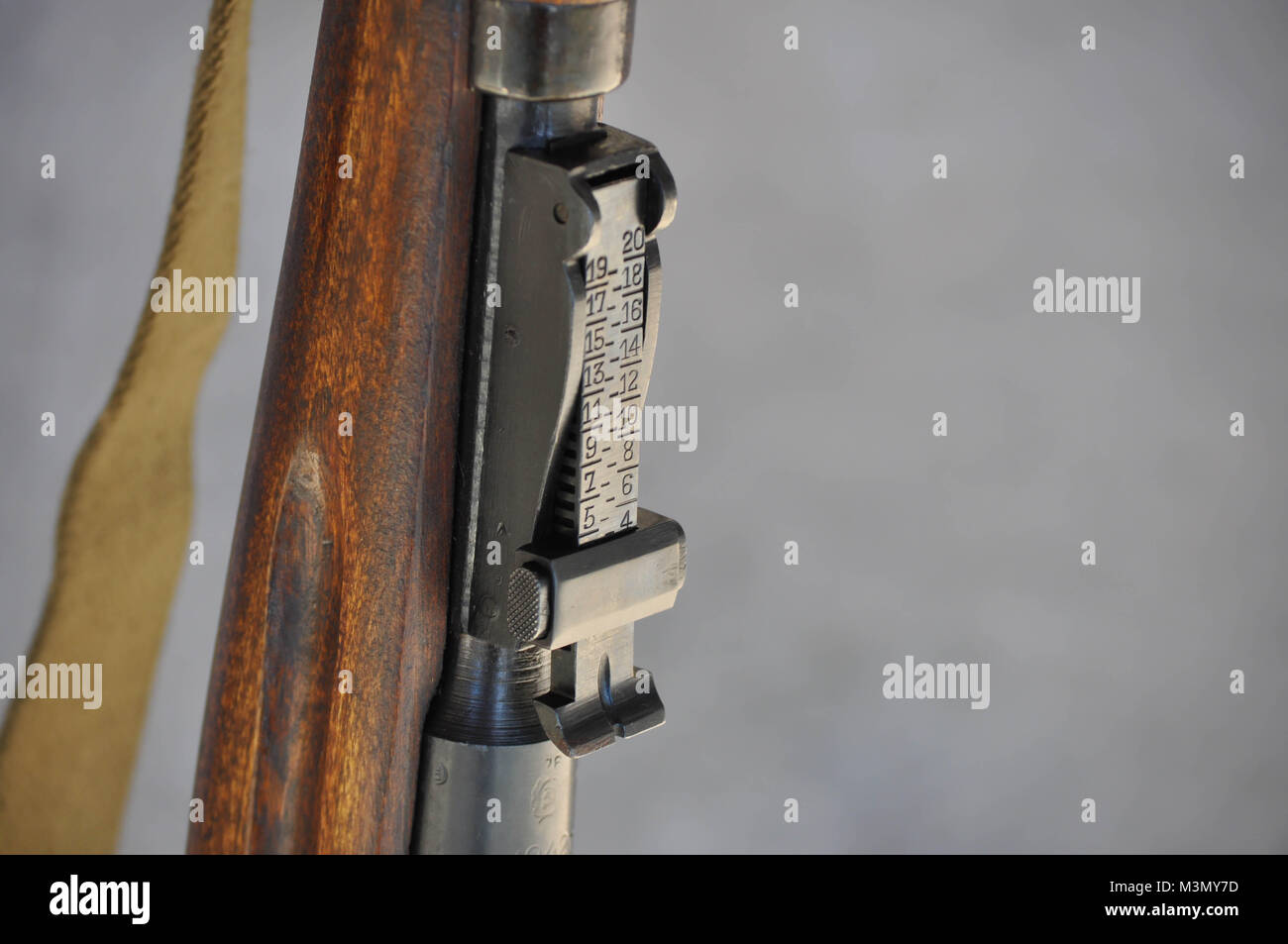 Mosin Nagant Stock Photos Images Alamy Gun Schematic Iron Sight Distance Scale On A Rifle Image