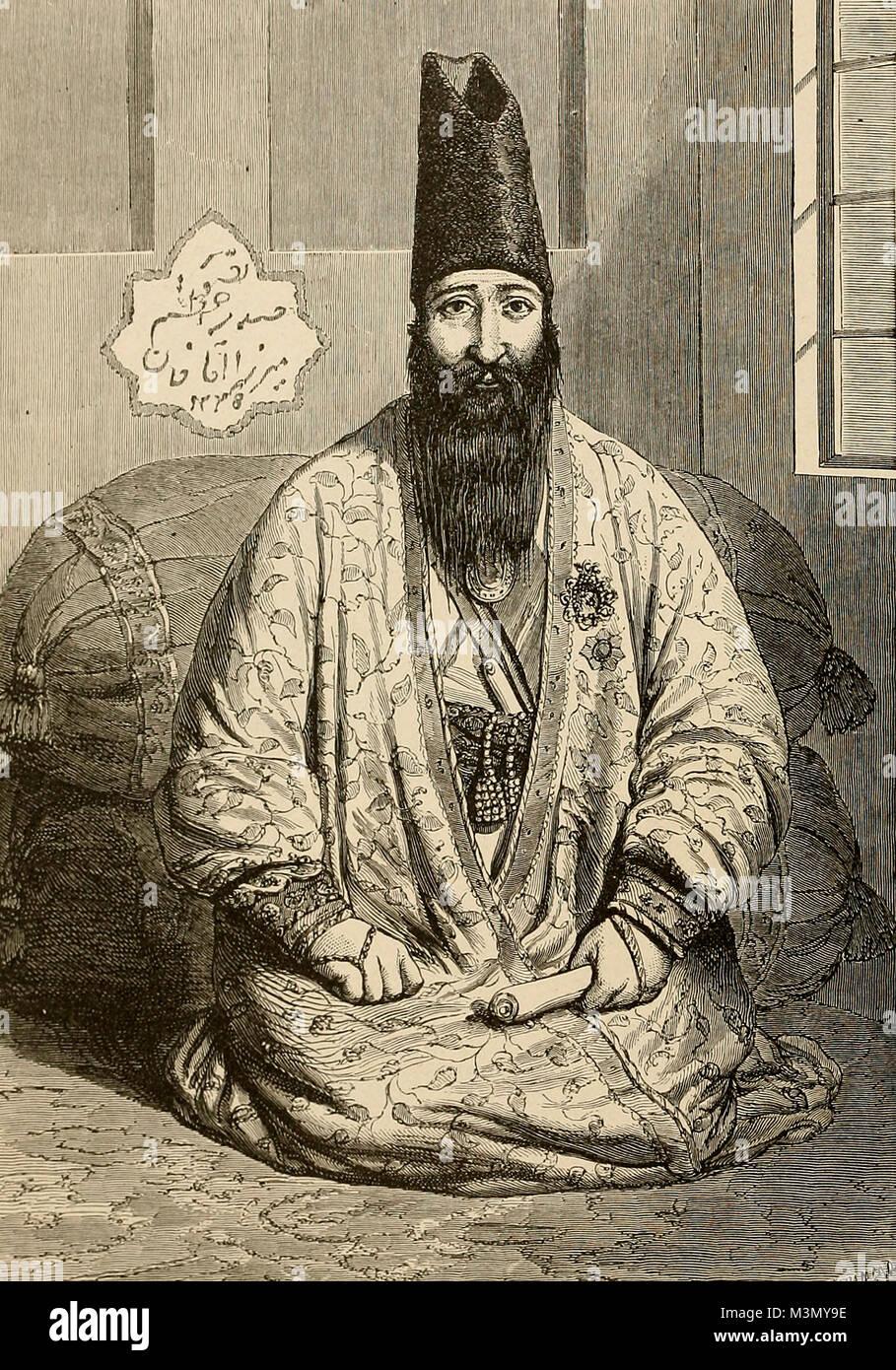 Persian Scholar Type - Haji Mirza Ughazzi - Stock Image