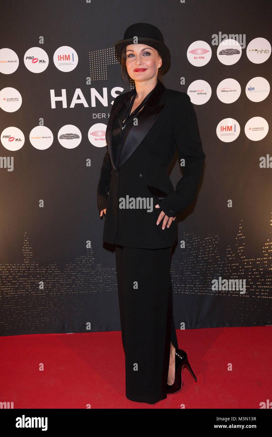 Preisverleihung des HANS – der Hamburger Musikpreis  2016 am 23.11.2016 im Club Markthalle in Hamburg Sandra Cazzato - Stock Image