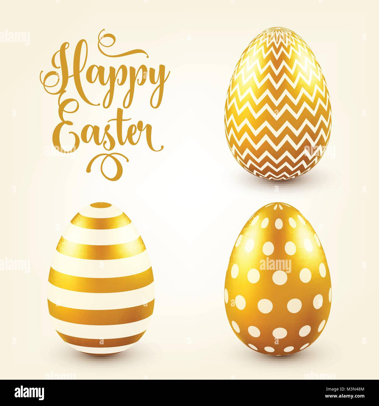 Easter golden egg with calligraphic lettering greetings easter golden egg with calligraphic lettering greetings traditional spring holidays in april or march sunday eggs and gold m4hsunfo