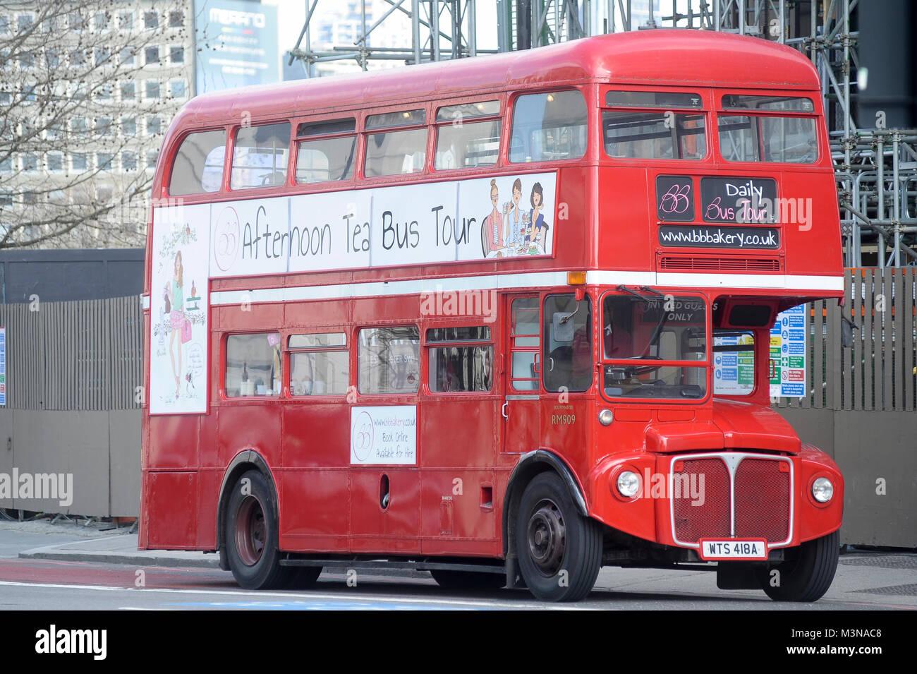 AEC Routemaster in London, England, United Kingdom. April 5th 2015 © Wojciech Strozyk / Alamy Stock Photo - Stock Image
