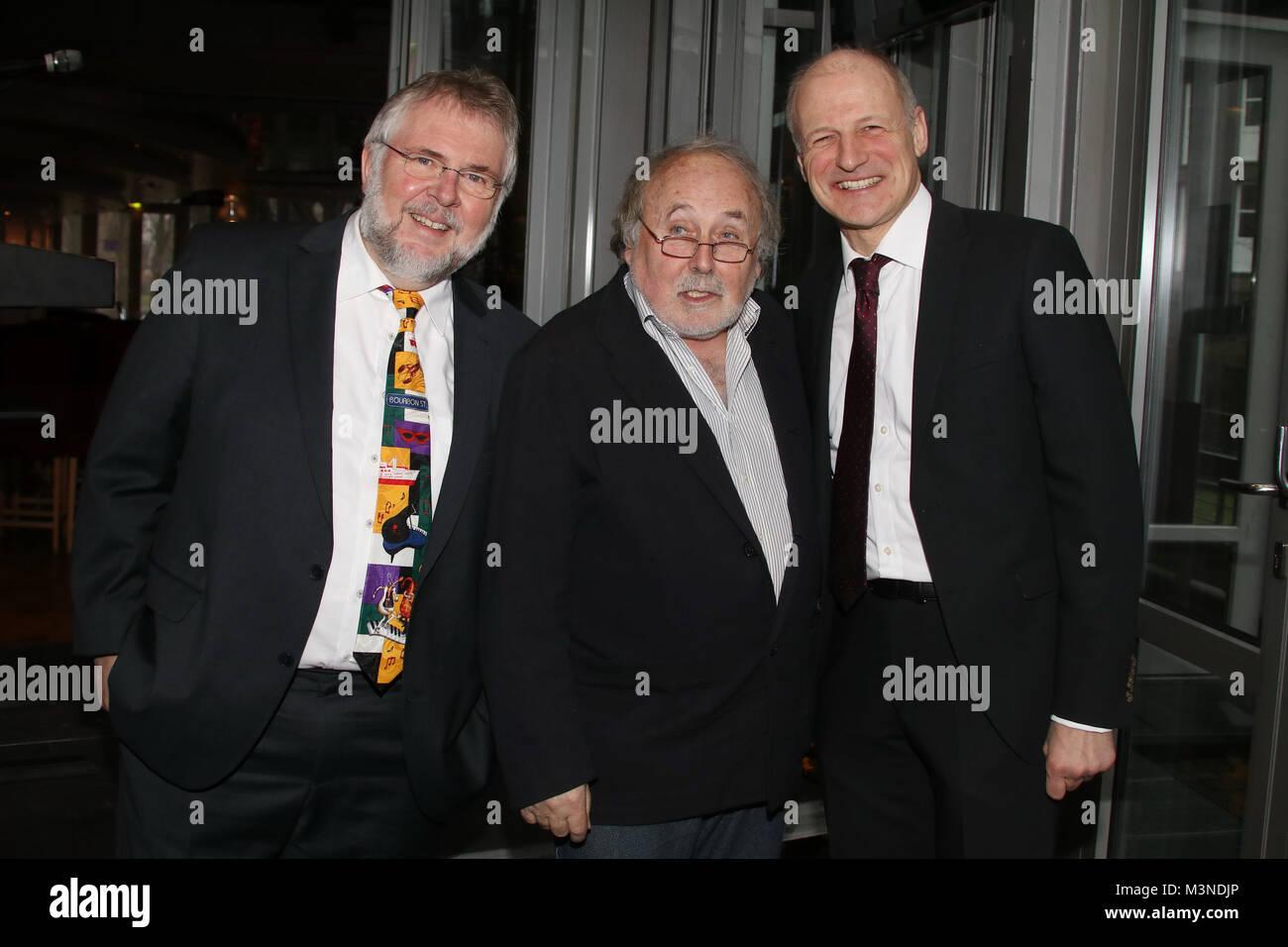 Gerd Spiekermann, Hans Scheibner, Eberhard Moebius, Neujahrsempfang, Komoedie Winterhuder Faehrhaus, 08.01.2017 - Stock Image