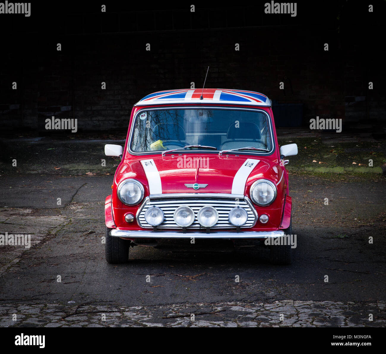 classic mini car 60s stock photos classic mini car 60s. Black Bedroom Furniture Sets. Home Design Ideas