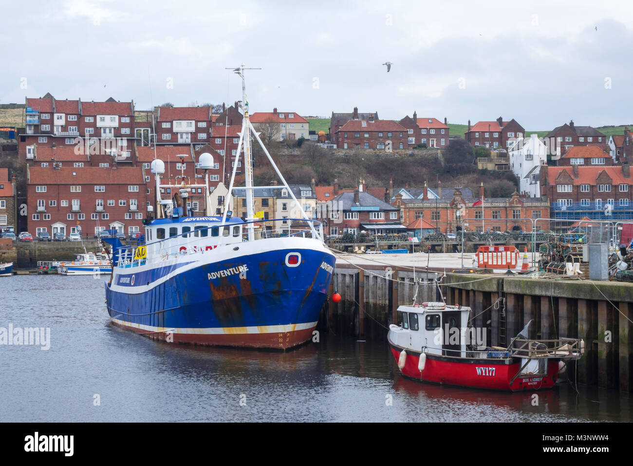 guard vessel adventure in whitby harbour the vessel is. Black Bedroom Furniture Sets. Home Design Ideas