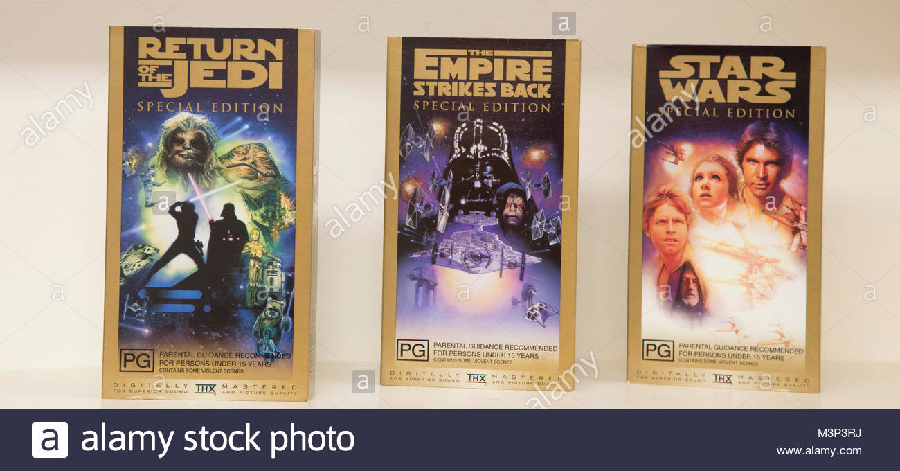 Star Wars Collectors Edition, Lucasfilm - Stock Image