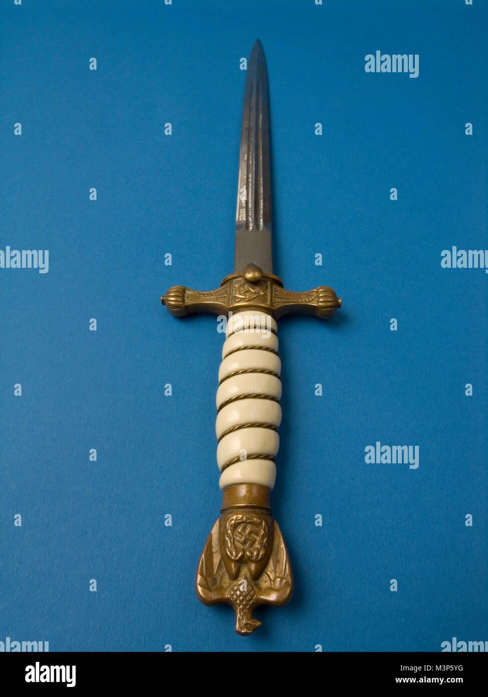 Nazi Naval Officers dagger Stock Photo