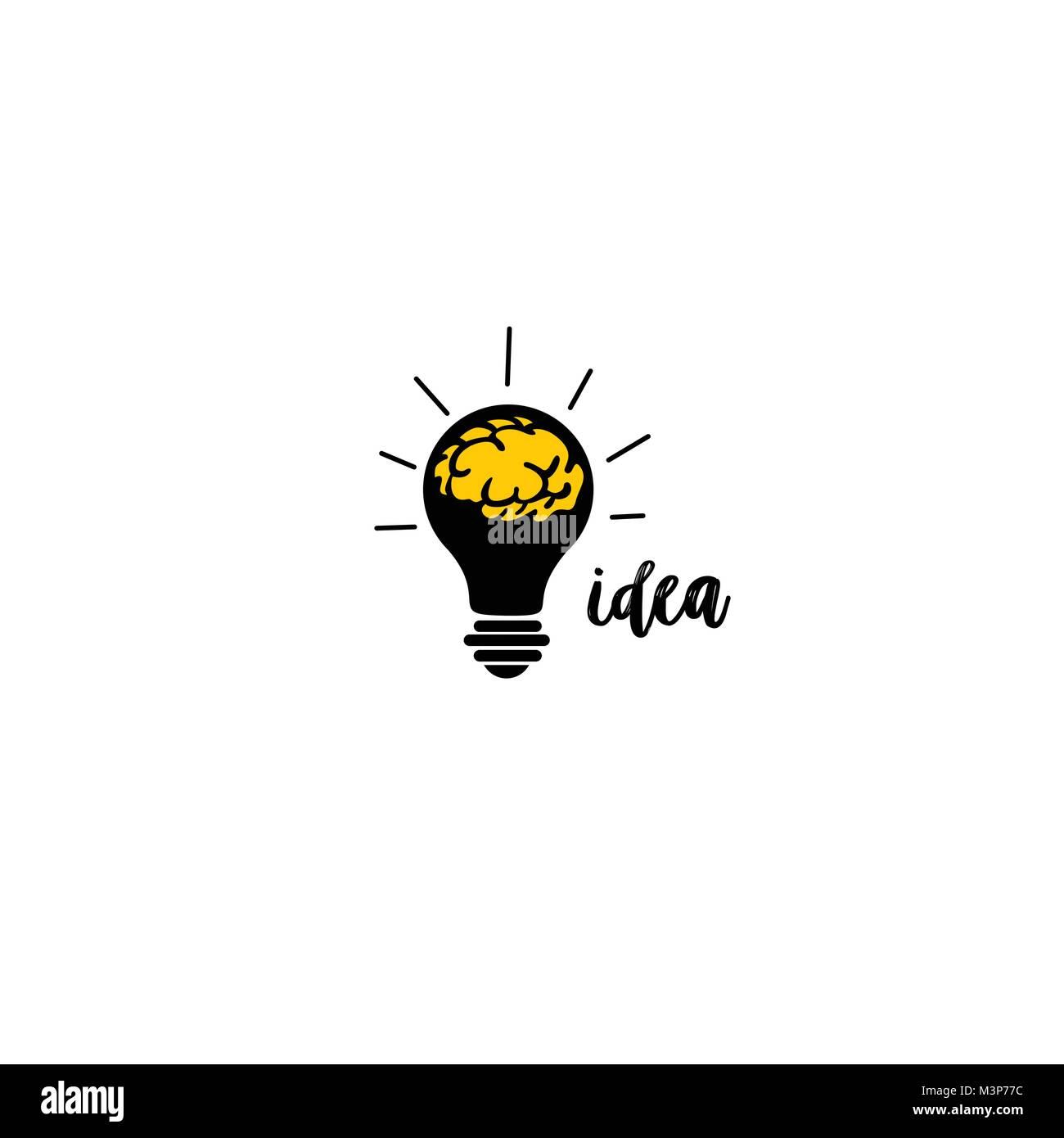 idea concept vector illustration design. - Stock Image