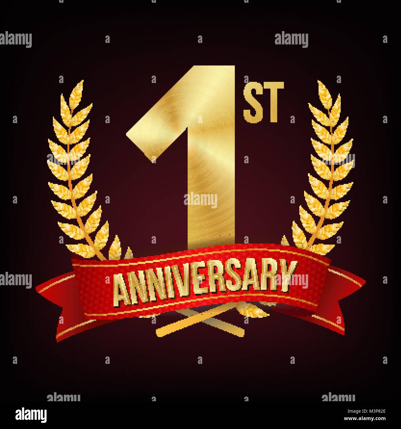 1 year business anniversary stock photos 1 year business