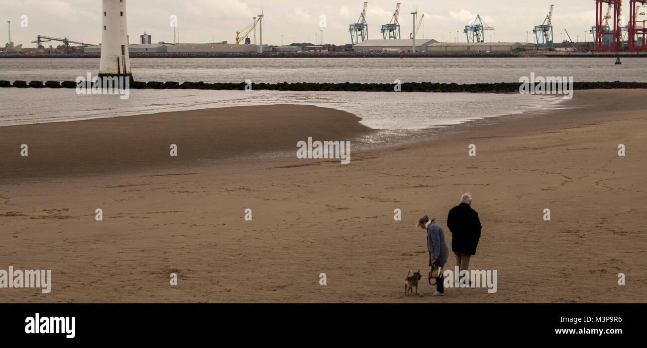 New Brighton Seires Imagery - Stock Image