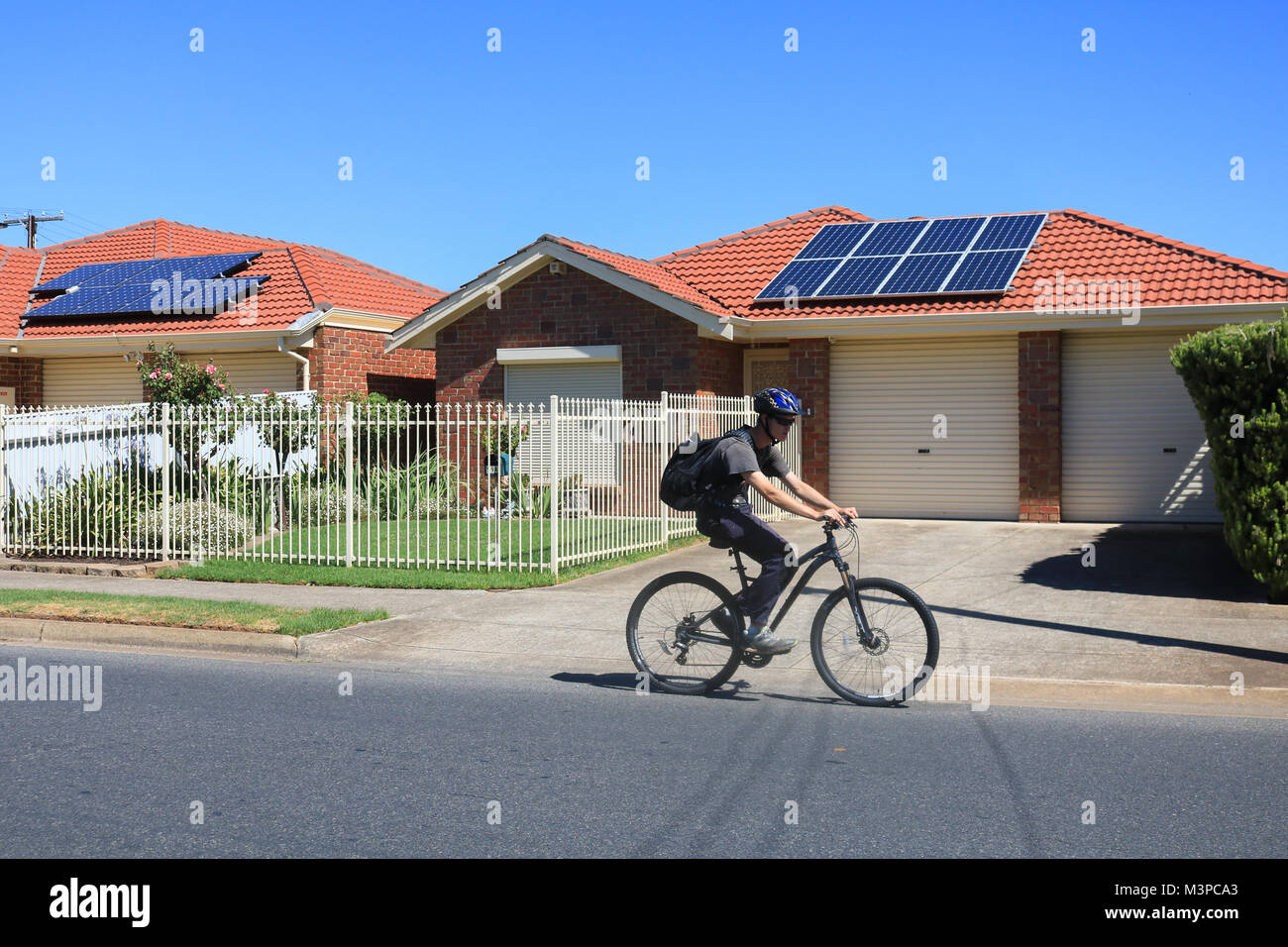 Adelaide, Australia. 12th Feb, 2018. The South Australia government and Premier Jay Weatherill has offered to install - Stock Image
