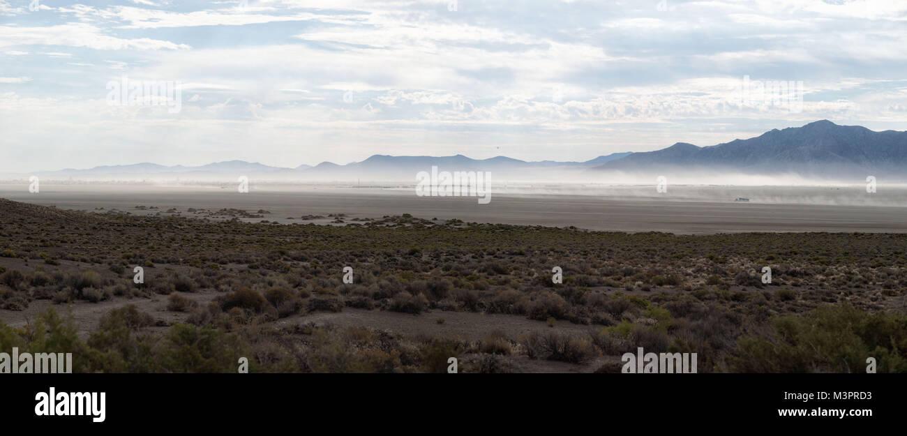 Black Rock Desert taken in 2015 - Stock Image