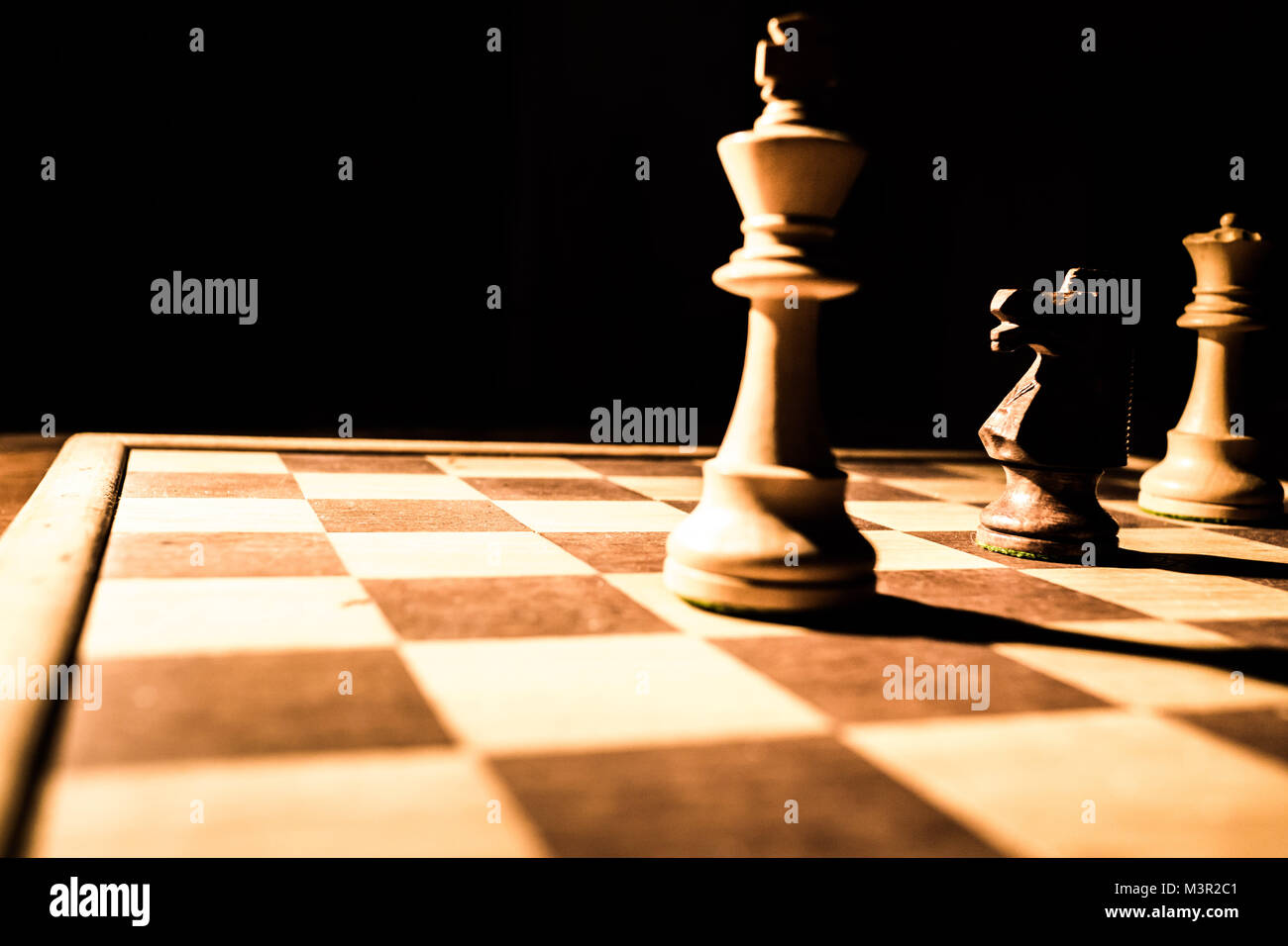 Chess game - Stock Image