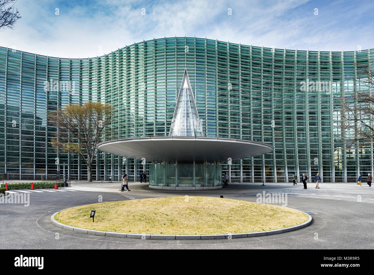 Japan, Honshu island, Kanto, Tokyo, Roppongi district, the National Art Center. Stock Photo