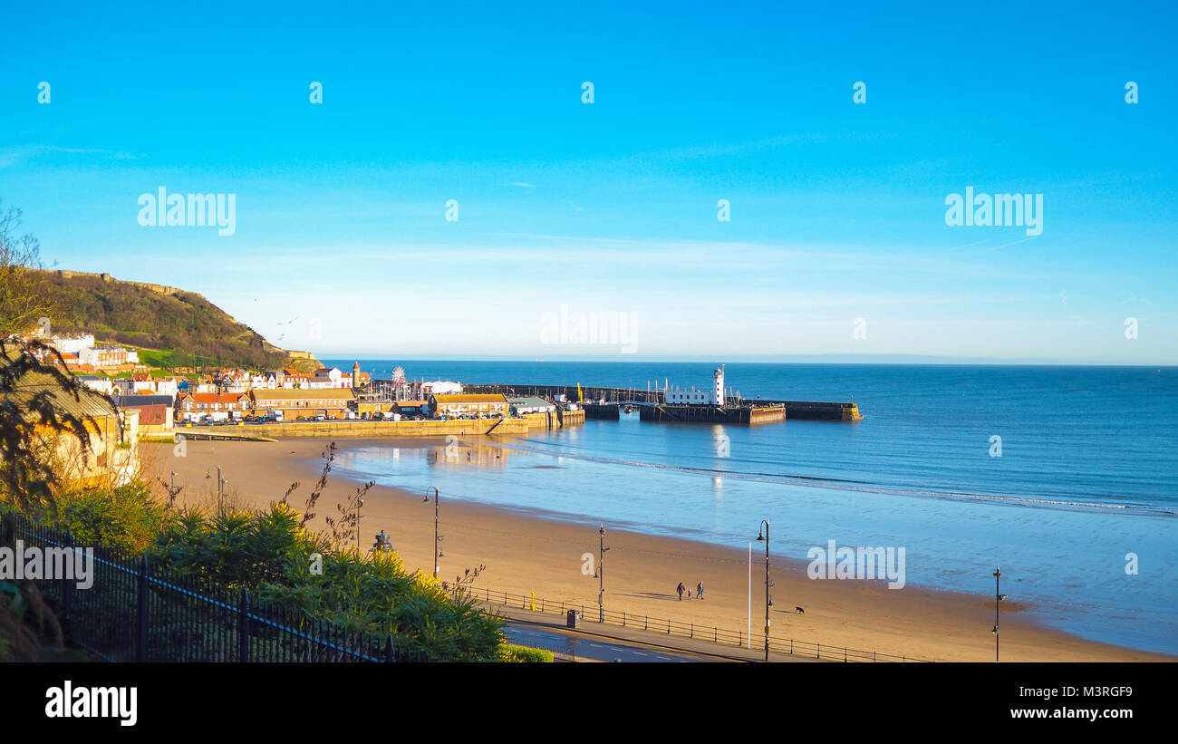 Scarborough overlook - Stock Image