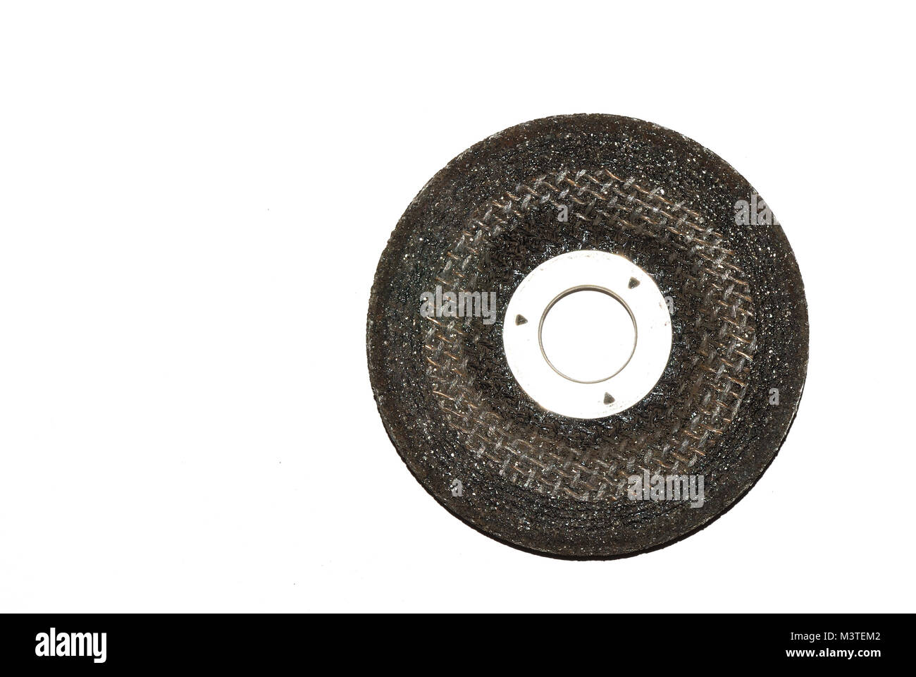 grinding wheel for artisan and industrial production in - Stock Image