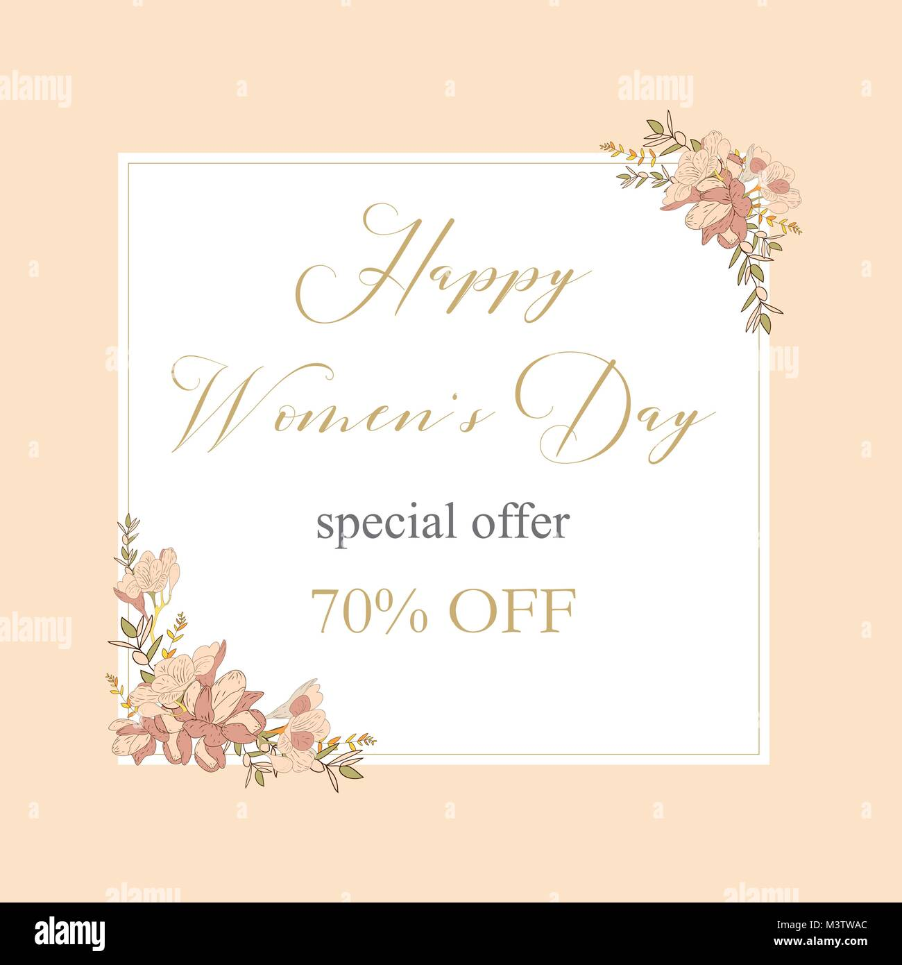 Womans Day Collection Sale Bannersle Discount 8 March Happy Women