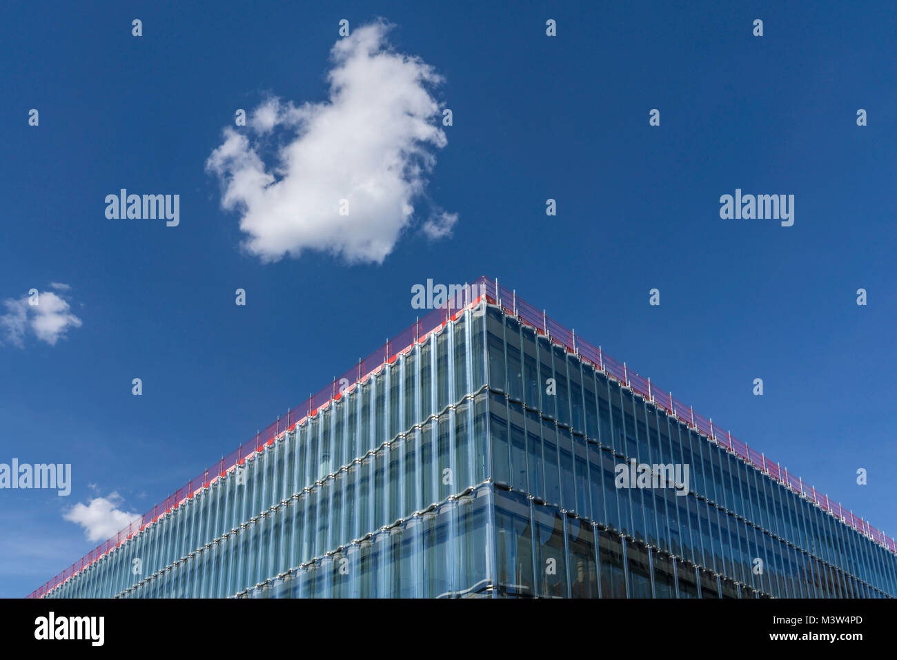 Neues Swiss Re Gebaeude, Swiss Re Next, Zuerich, Schweiz |New Swiss Re building, Swiss Re Next,  by Diener & - Stock Image