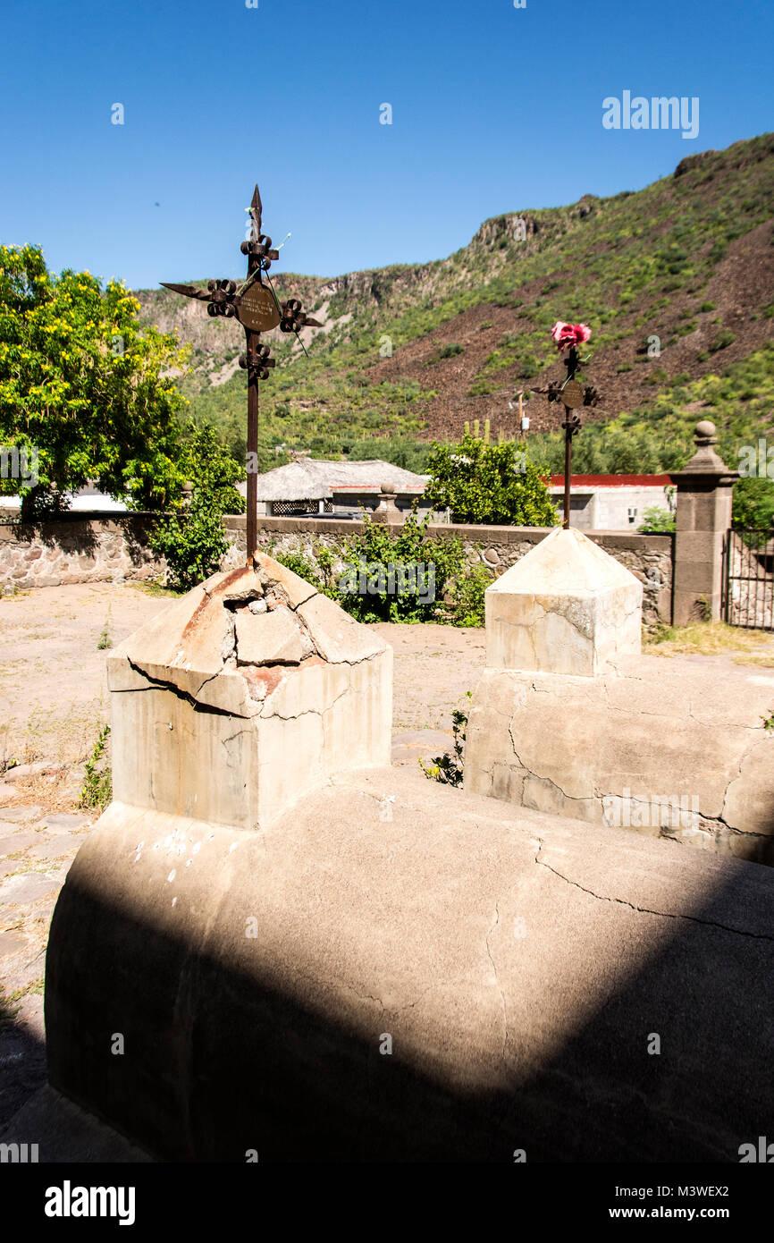 Mision San Francisco Javier de Vigge-Biaundo - Stock Image