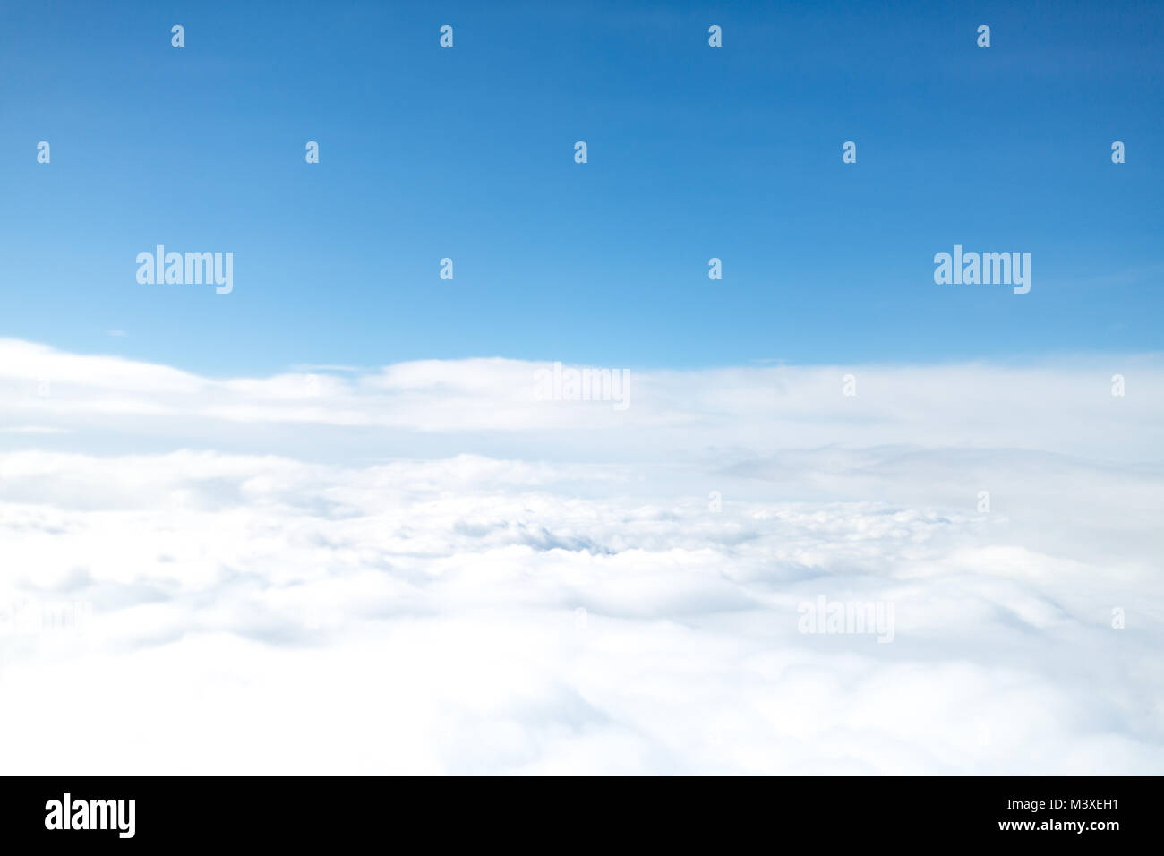 Clouds on sky background - Stock Image