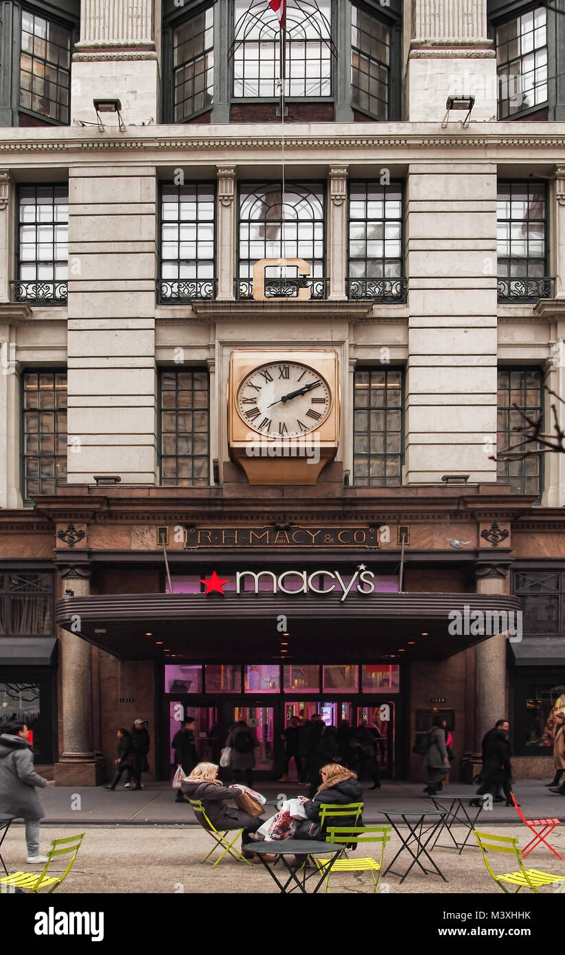 Macy S 10th Birthday Party At Dylan S Candy Bar: Macys New York Stock Photos & Macys New York Stock Images