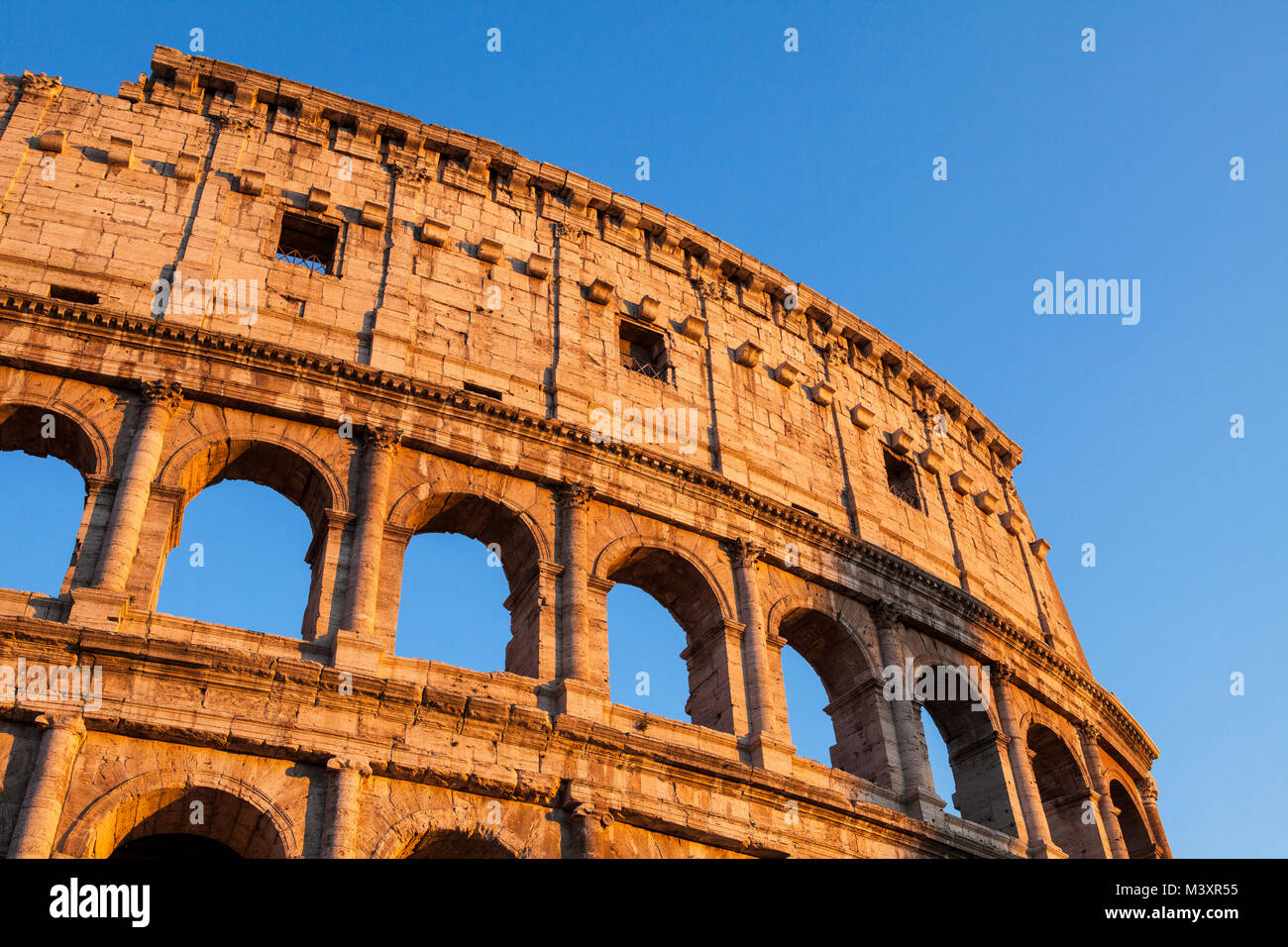 Image of historical Colosseum in Rome, Italy Stock Photo