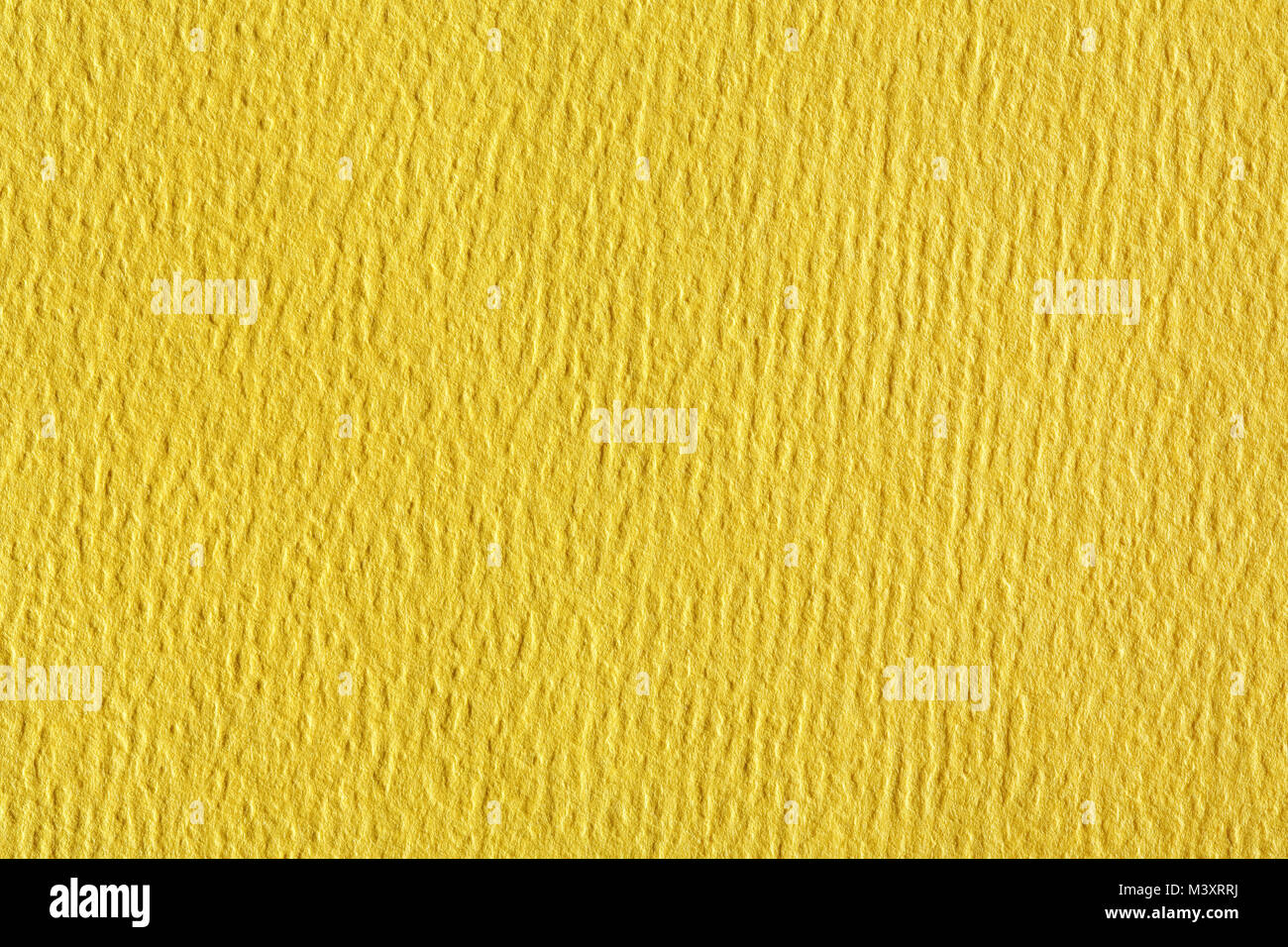 Soft yellow fabric wallpaper texture background. - Stock Image