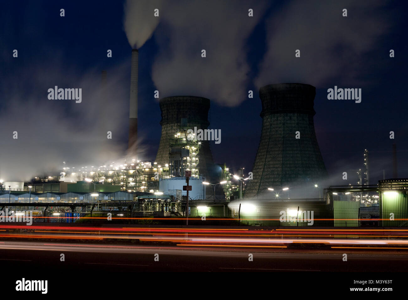 Refinery in Wesseling near Cologne, Germany. - Stock Image